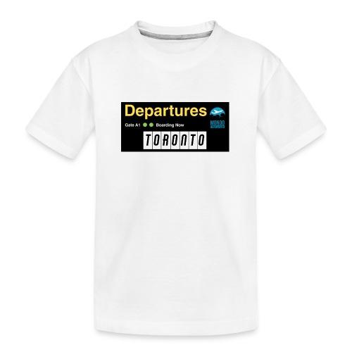 TORONTO png - Maglietta ecologica premium per ragazzi