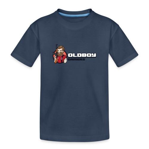 Oldboy Gamers Fanshirt - Premium økologisk T-skjorte for tenåringer