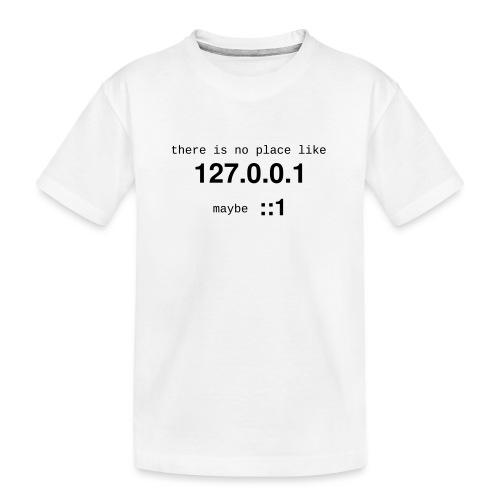 127-0-0-1-new - T-shirt bio Premium Ado