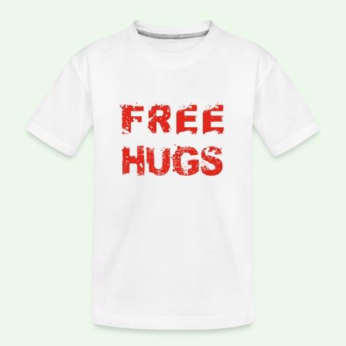 Free Hugs // Flirten // T-Shirt - Teenager Premium Bio T-Shirt