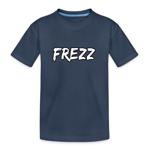 T Shirt FREZZ Noir&Blanc Classique (NOIR) - T-shirt bio Premium Ado