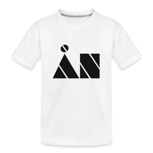 Ån logo - Ekologisk premium-T-shirt tonåring