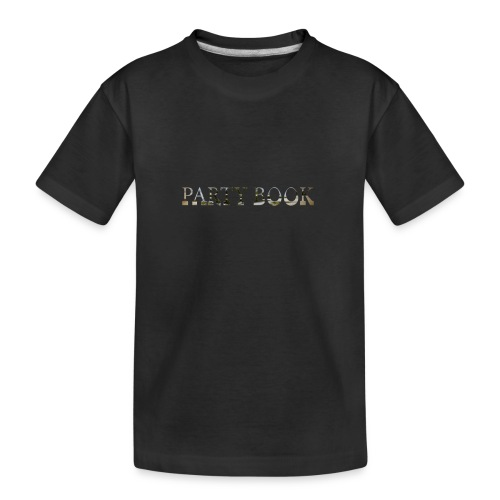 PartyBook - Teenager Premium Bio T-Shirt
