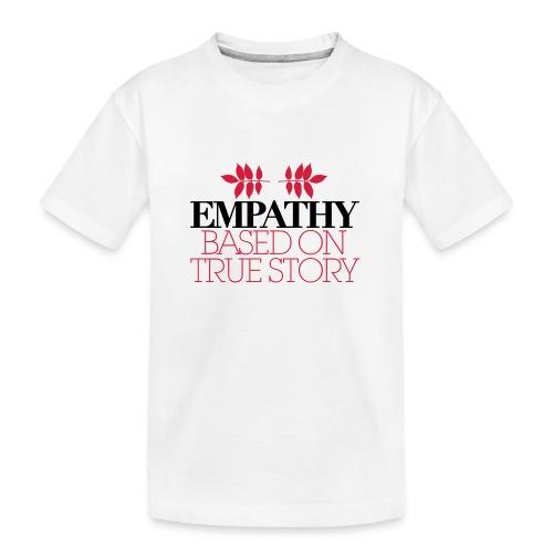 empathy story - Ekologiczna koszulka młodzieżowa Premium