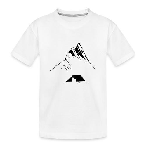 Zelten - Teenager Premium Bio T-Shirt