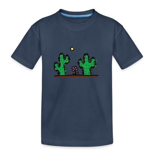 Cactus - Maglietta ecologica premium per ragazzi