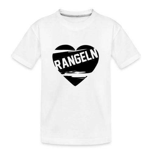 Rangeln ist Liebe - Teenager Premium Bio T-Shirt