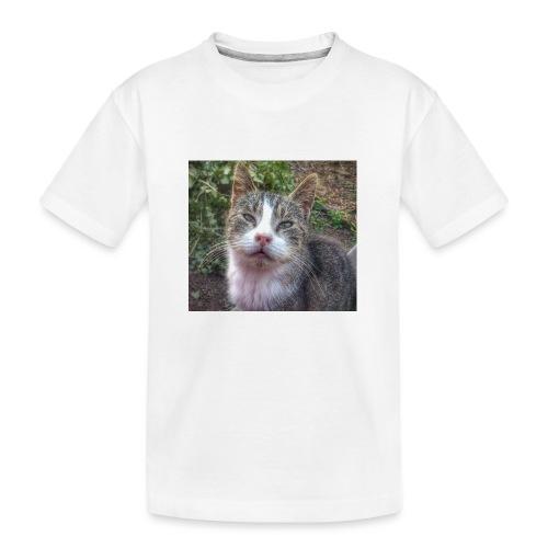 Katze Max - Teenager Premium Bio T-Shirt