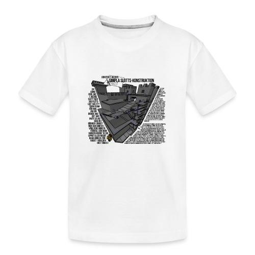Jacobs Slott - Ekologisk premium-T-shirt tonåring