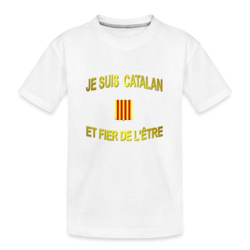 Dessous de verre à l'emblème du PAYS CATALAN - T-shirt bio Premium Ado