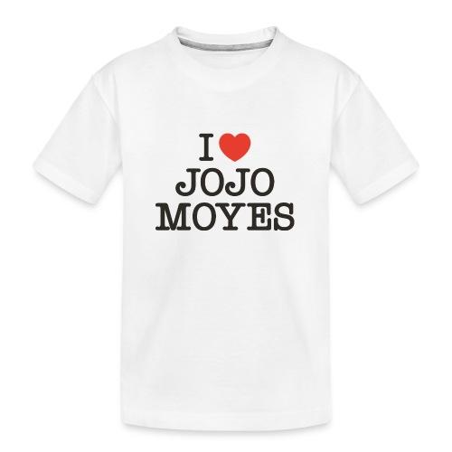 I LOVE JOJO MOYES - Teenager premium T-shirt økologisk
