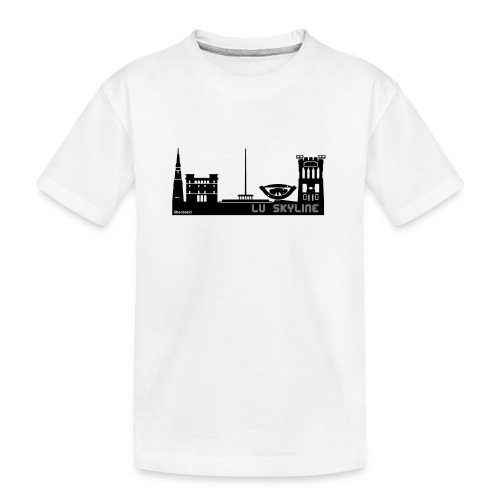 Lu skyline de Terni - Maglietta ecologica premium per ragazzi