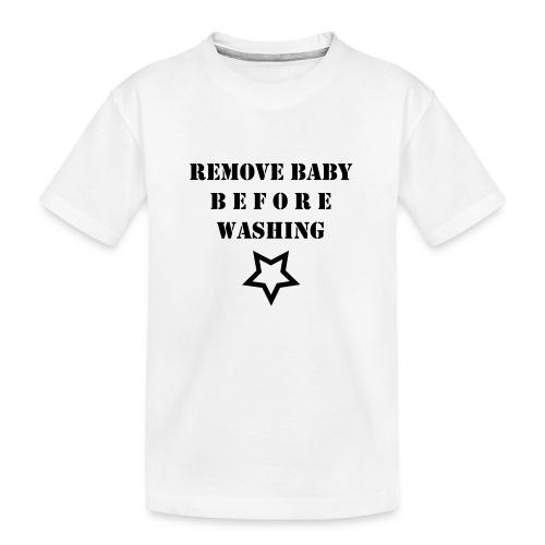 removebaby - Teenager premium biologisch T-shirt