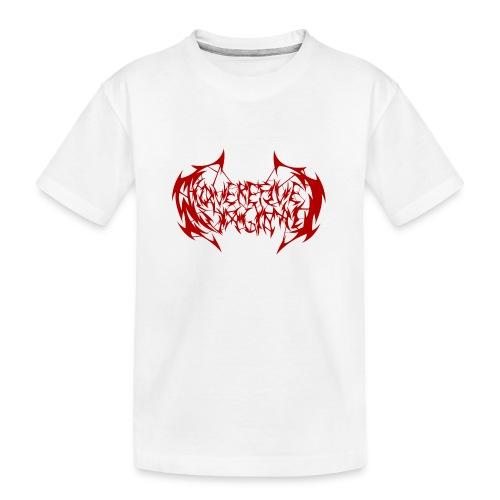 ARV Logo rosso - Maglietta ecologica premium per ragazzi