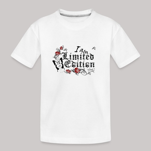 simply wild limited Edition on white - Teenager Premium Bio T-Shirt