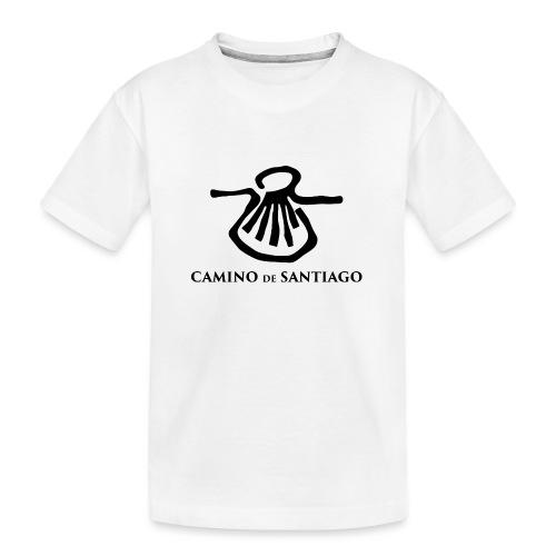 Camino de Santiago - Teenager premium T-shirt økologisk