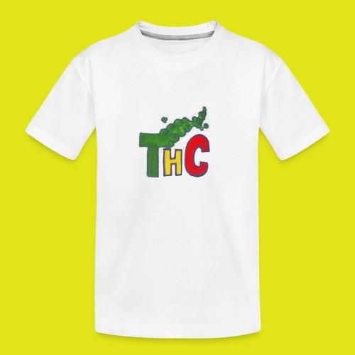 THC logo one - Maglietta ecologica premium per ragazzi