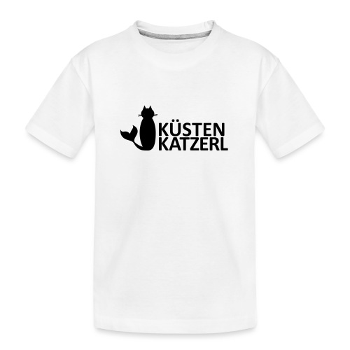 Küstenkatzerl - Teenager Premium Bio T-Shirt