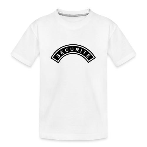 Ecusson Sécurité demilune - T-shirt bio Premium Ado