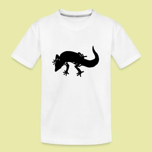 tremper_gecko_logo_einfach - Teenager Premium Bio T-Shirt