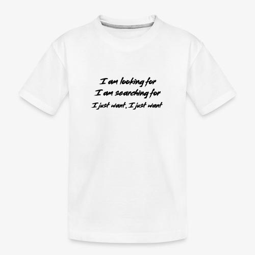 Change (NF) 1.1 - Teenager Premium Organic T-Shirt