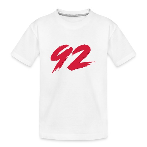 92 Logo 1 - Teenager Premium Bio T-Shirt