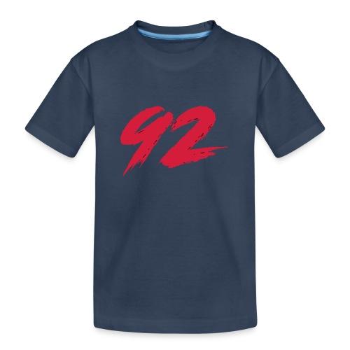 92 Logo 1 - Teenager Premium Bio T-Shirt