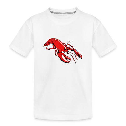 Lobster - Teenager Premium Organic T-Shirt