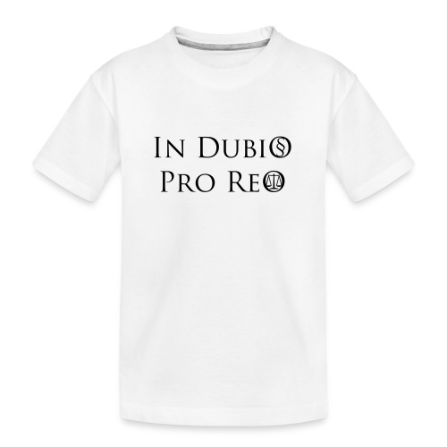 In Dubio pro Reo - Teenager Premium Bio T-Shirt
