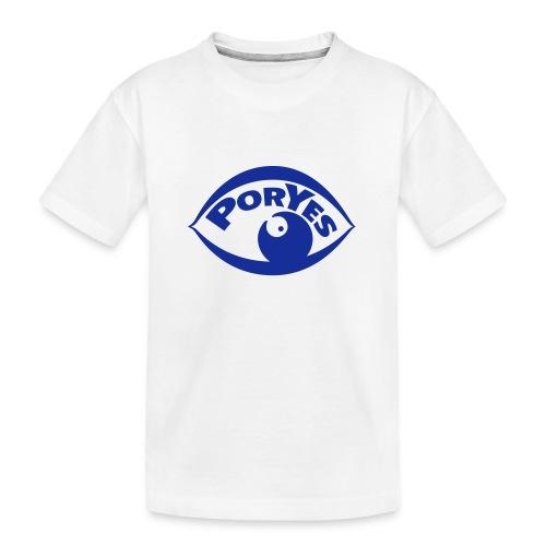 logo poryes lila - Teenager Premium Bio T-Shirt