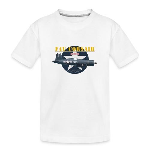 F4U Jeter VBF-83 - T-shirt bio Premium Ado