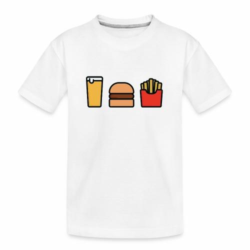 Meal Deal - Teenager Premium Organic T-Shirt