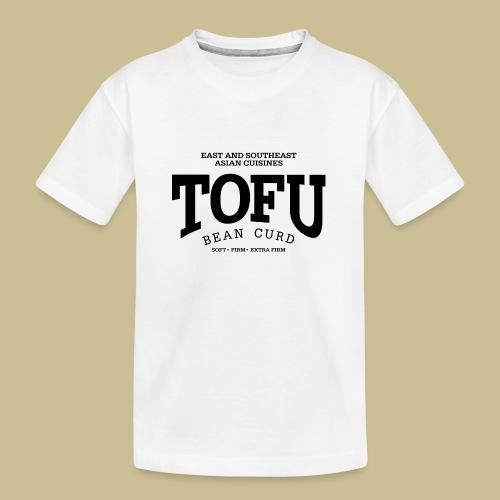 Tofu (black) - Teenager Premium Bio T-Shirt