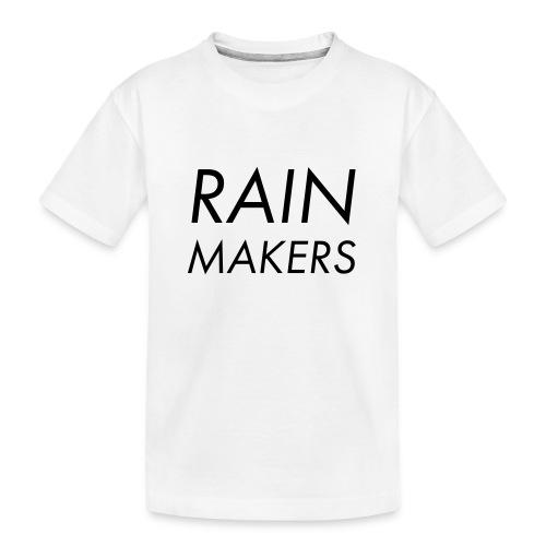 rainmakertext - Teinien premium luomu-t-paita