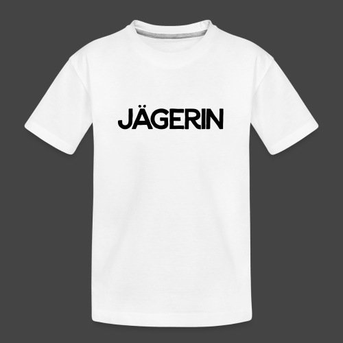 Jägerin-Shirt - Teenager Premium Bio T-Shirt