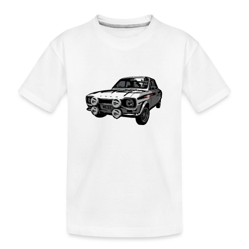 Mk1 Escort - Teenager Premium Organic T-Shirt