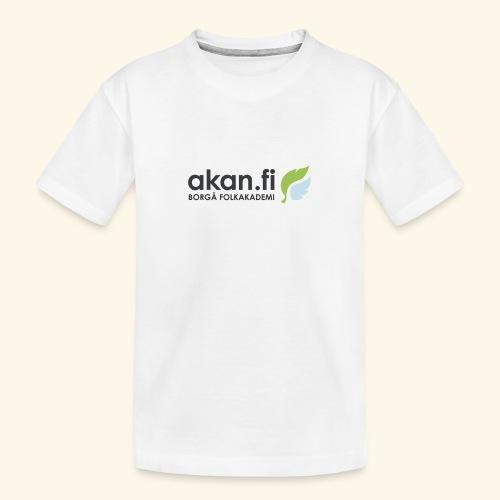 Akan Black - Ekologisk premium-T-shirt tonåring