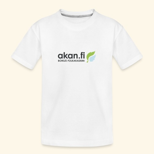 Akan Black - Teinien premium luomu-t-paita