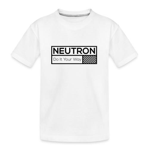 Neutron Vintage-Label - Teenager Premium Bio T-Shirt