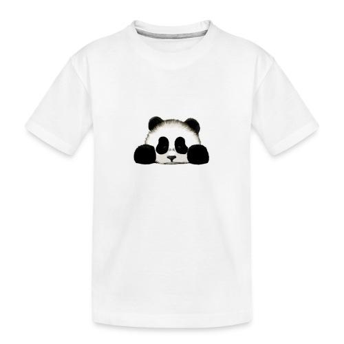 panda - Teenager Premium Organic T-Shirt