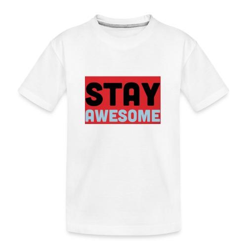 425AEEFD 7DFC 4027 B818 49FD9A7CE93D - Teenager Premium Organic T-Shirt