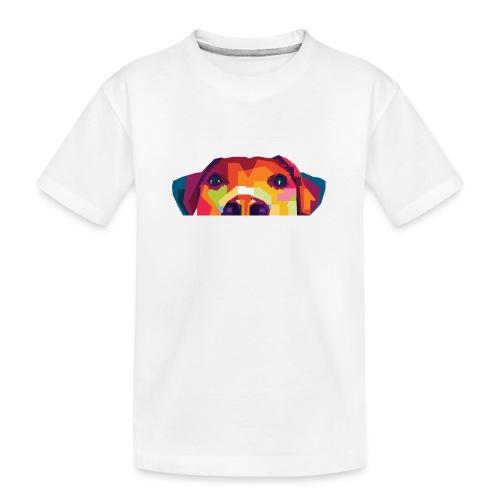 Hunde WPAP Design - Teenager Premium Bio T-Shirt