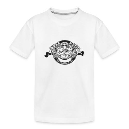 Gufo - Wandering Claw - Maglietta ecologica premium per ragazzi