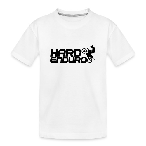 Hard Enduro Biker - Teenager Premium Bio T-Shirt