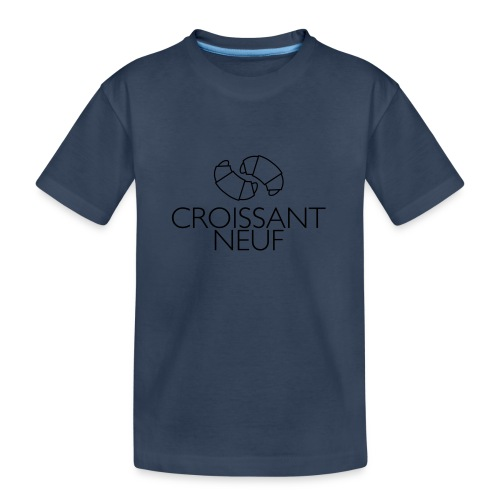 Croissaint Neuf - Teenager premium biologisch T-shirt