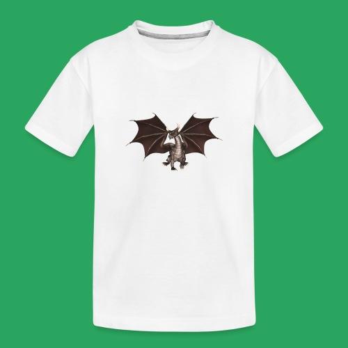 dragon logo color - Maglietta ecologica premium per ragazzi