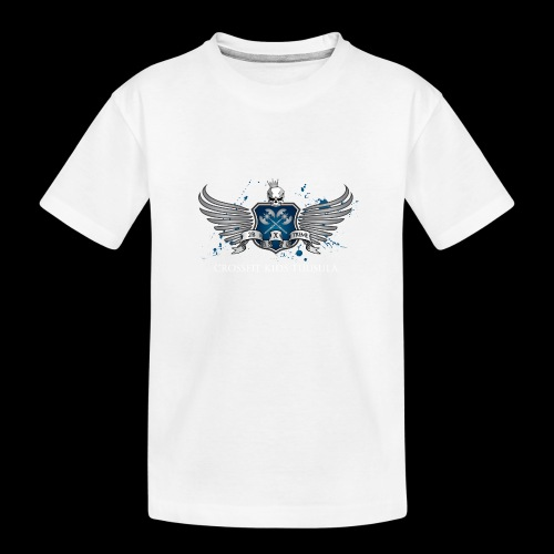 CrossFit kids Tuusula - Teinien premium luomu-t-paita
