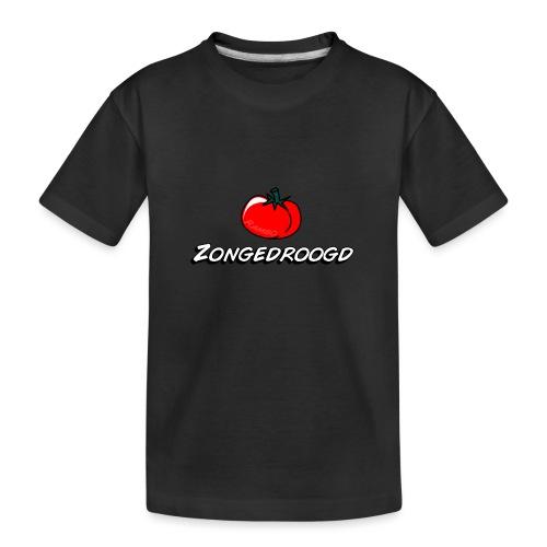 ZONGEDROOGD - Teenager premium biologisch T-shirt