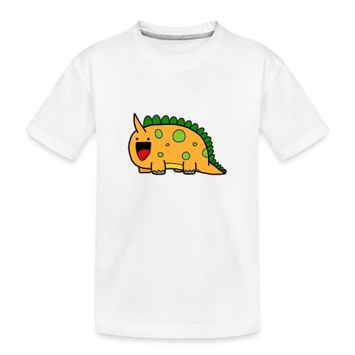 cute-dinosaur-clipart-panda-free-clipart-images-Yj - Maglietta ecologica premium per ragazzi