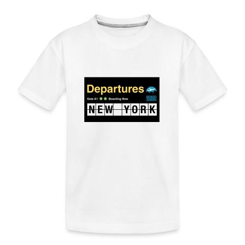 Departures Defnobarre 1 png - Maglietta ecologica premium per ragazzi